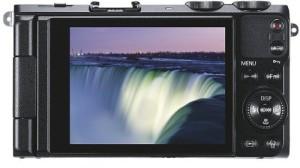 Samsung EX2F - kompakte Digitalkamera Rückseite