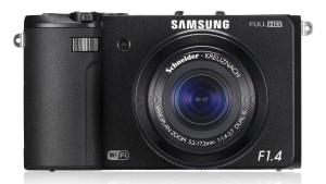 Samsung EX2F - kompakte Digitalkamera von vorne