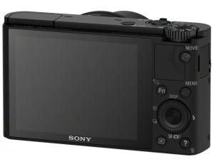 Sony DSC-RX100 Cybershot - Digitalkamera Rückseite