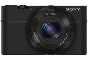 Sony DSC-RX100 Cybershot - Digitalkamera von vorne