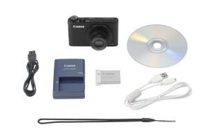 Verpackungsinhalt - Canon PowerShot S110